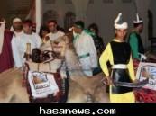 """عدسة ( الأحساء نيوز ) ترصد فعاليات سوق هجر """" حاضر وعراقة """" في يوم إفتتاحه"""