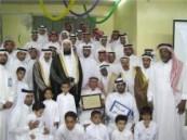 مدير تعليم الأحساء يرعى حفل تكريم 39 متفوقاً  من أسرة المسلم بالطرف ..