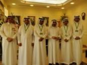 أمين الشرقية يستقبل فريق الرحالة السعوديون خلال زيارتهم للمنطقة  .