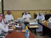 اعضاء اللجنة الأهلية بصفوى يلتقون بمجلس بلدي القطيف  .