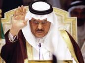 سمو وزير الداخلية يعزي والد الشهيد القحطاني