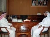 مدير التوعية الصحية بوزارة الصحة في زيارة لصحة الأحساء .