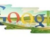 """شركة """" google """" تختار الشاعر الجواهري شعار لموقعها ."""