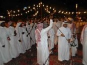 """أكثر من ( 3000 ) مواطن يحتفلون بالعيد بمحافظة الأحساء … والختام غداً بحضور وكيل المحافظة """" البراك """""""
