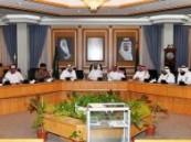 أمين الشرقية يترأس اجتماع اللجنة العليا لتنسيق المشاريع بالمنطقة الشرقية .