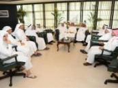 المهندس / فهد الجبير يستقبل اليوم وفدا من الإعلاميين ورجال الصحافة ووجهاء ومشائخ الأحساء مهنئين بمناسبة تحويل البلدية الى أمانه ..