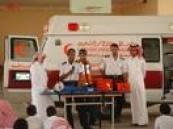 جهات إسعافية وطبية وأمنية تستنفر أجهزتها  في إجازة عيد الفطر  في محافظة الإحساء تحسبا للطوارئ .