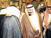 خادم الحرمين الشريفين يجتمع بأمراء المناطق ويحثهم على راحة المواطنين ومتابعة أحوالهم .