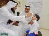 بدء حملة تطعيم شلل الأطفال بمركز صحي كليّة .