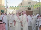 يجمعون خلاله بين اكبر رجل واصغر طفل في الحي  .. العيد يجمع أهالي حي الصالحية بالهفوف .