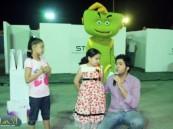 ميدان التحدي وفعاليات شركة الأتصالات السعودية STC تمتع زوار مهرجان الأحساء للترفيه والتسوق والترفيه 2012م .