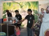 """حضور وتفاعل لافت شهدته خيمة معارض الجهات الحكومية المشاركة في مهرجان """" فرحة حسانا """""""
