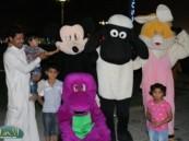 فعاليات مهرجان واحة الخير ( فرحة حسانا ) تستقطب عدد كبير من الزوار وتفاعل مع الانشطة المعروضة.