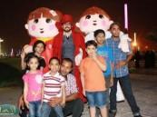 """عدسة ( الأحساء نيوز ) ترصد فعاليات اليوم الرابع في مهرجان """" فرحة حسانا """" في منتزه الملك عبد الله البيئي ."""