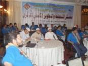 السويلم : يفتتح فعاليات معسكر التخطيط والتطوير الكشفي المركزي بمحافظة جدة