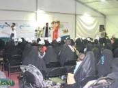 وفد نسائي من مركز الطفولة بالقطيف يزور مهرجان فرحة حسانا