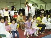 في اليوم الخامس لمهرجان ( فرحة حسانا ) العاب حركية أشعلت حماس المتواجدين في المسرح .