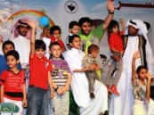 """عدسة ( الأحساء نيوز ) ترصد فعاليات اليوم السابع من مهرجان """" فرحة حسانا """" في منتزه الملك عبد الله البيئي"""