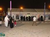 """عدسة ( الأحساء نيوز ) ترصد فعاليات اليوم التاسع في مهرجان """" فرحة حسانا """" في منتزه الملك عبد الله البيئي ."""
