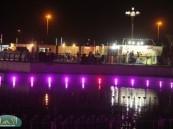 """عدسة ( الأحساء نيوز ) ترصد فعاليات اليوم """" العاشر """" في مهرجان """" فرحة حسانا """" في منتزه الملك عبد الله البيئي ."""