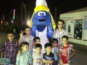 """"""" العيسى """" خلال زيارته لمهرجان (فرحة حسانا) لفت نظري الكوادر الشبابية التي تعمل من أجل إسعاد الحضور ."""