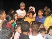 """في اليوم الثاني من ملتقى الطفل الرابع : حبيب الحبيب والمدهش فاجئوا الجمهور بالتواجد على الخشبة و """" درس خصوصي """" بالثقافة والفنون بالأحساء ."""