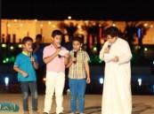 في اليوم الثاني عشر بمهرجان واحة الخير ( فرحة حسانا) خيمة الطفل تستقطب عدد كبير من الأطفال  وسط تفاعل ومشاركة كبيرة .
