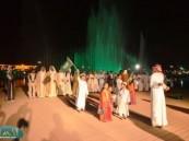 """عدسة ( الأحساء نيوز ) ترصد فعاليات اليوم  """" الثالث عشر""""  في مهرجان """" فرحة حسانا """" في منتزه الملك عبد الله البيئي ."""