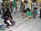 الأطفال والزوار يشاركون بألعاب الصلصال والزهره بمهرجان الأحساء للتسوق والترفيه
