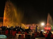"""عدسة ( الأحساء نيوز ) ترصد فعاليات اليوم """"  16 """" لمهرجان """" فرحة حسانا """" في منتزه الملك عبد الله البيئي"""
