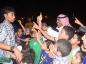 الاندية الصيفية بالاحساء تشارك بمسابقات علي المسرح المائي  بمهرجان ( فرحة حسانا)  .
