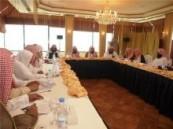 مدير عام الهيئة بالمنطقة الشرقية يجتمع بمدراء الفروع  وتوصيات لمصلحة العمل الميداني .