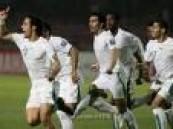 المنتخب السعودي يستعد لمقابلة تونس في مباراة دولية ودية في رادس .