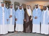 مناقشة الخطط الجديدة للعام الدراسي والنظام الثلثي : الأمير بدر آل جلوي يستقبل عميد كلية التقنية بالأحساء وعدد من منسوبيها .