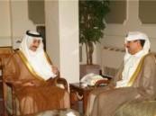 محافظ الإحساء يستقبل سفير الكويت لدى المملكة  .