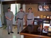 مدير شرطة الأحساء  يقلد الحربي  رتبته الجديدة .
