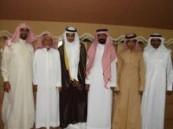أسرة السليم والرحيمان تحتفلان بزواج  ضاوي  .