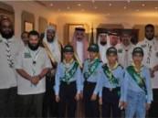 سمو محافظ الأحساء يستقبل أشبال مدرسة عمار بن ياسر الابتدائية بالهفوف