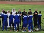 الفتح يختتم أستعداداته للجهراء الكويتي وسط حضور إداري وشرفي
