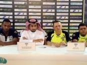 المؤتمر الصحفي لمدرب هجر وعبده حكمي قبل مباراة الرائد