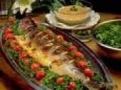 السمك يحتوي مواد سامة تقضي على السرطان .