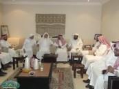 """عضو المجلس البلدي """" البو علي """" يستأنف لقائه بالمواطنين في جلساته الأسبوعية ."""