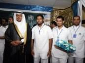 تخريج 77 قيادي تمريض بمختلف مناطق المملكة في الاحساء : العصيمي : 4 عناصر رئيسية للرفع من مستوى مهنة التمريضي .