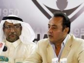 """المركز الإعلامي بنادي هجر يعقد مؤتمر صحفي لمدربة الجديد """"طارق يحيى"""""""