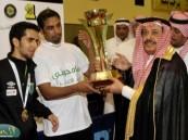 الحسيني يتوج الأهلي بكأس بطولة الأندية الخليجية (27) لكرة الطائرة
