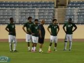 الأخضر ينهي تدريبه الأخير لملاقاة الكونغو غداً على ملعب الأحساء