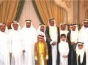 """أسرة الأمير تحتفل بزواج """" حمد """""""