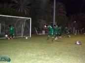 الأخضر الشاب يواجه الإمارات ودياً عصر اليوم