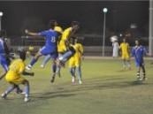 شباب الفتح يتصدر دوري الأحساء لكرة القدم بعد فوزه على فريق الجيل .