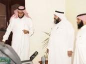 """رئيس قسم العلاقات العامة في مركز التنمية الأسرية يزور مشروع  """" حيـاة """""""
